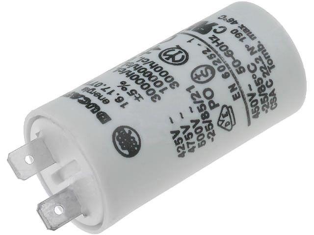 kondenzátor rozběhový 4,5 µF, 4x faston Whirlpool / Indesit