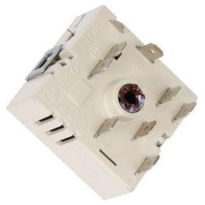regulátor energie plotny, přepínač ploten sklokeramických sporáků pro 1 okruh - C00037056 Whirlpool / Indesit
