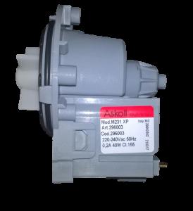 Motor vypouštěcího čerpadla do praček a myček Whirlpool / Indesit - 481281729514