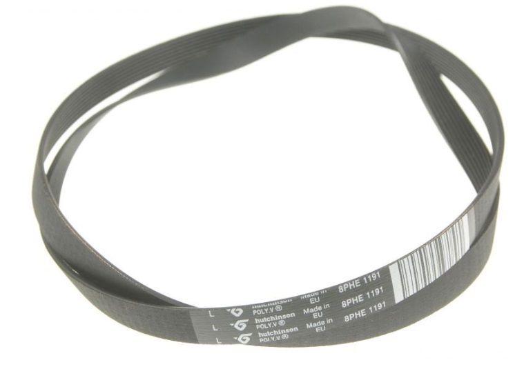 řemen 1191 H8 pro pračky Indesit, Ariston - C00305069 Whirlpool / Indesit