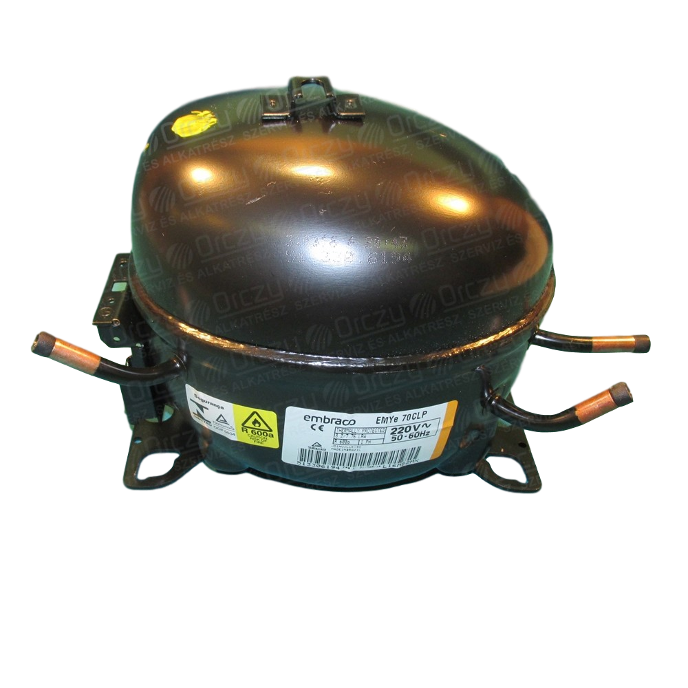 motorkompresor EMC70CLT do chladničky Whirlpool - 481010496805 Whirlpool / Indesit