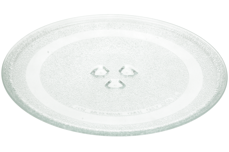 talíř do mikrovlnky skleněný, průměr 245 mm - 00662071 Bosch / Siemens
