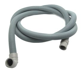 úhlový, zahnutý konec průměr 30 mm pro připojení na čerpadlo, rovný konec 19 mm do odpadu, délka 2 m Ostatní