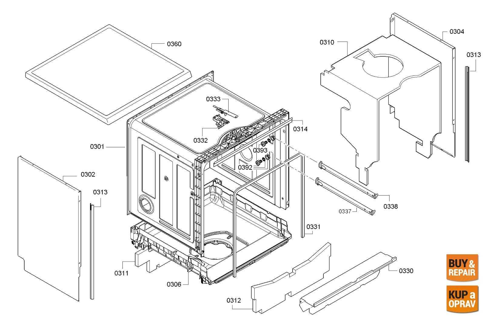 Dishwasher Spare Parts & Accessories